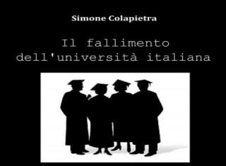 La copertina del libro di Simone Colapietra