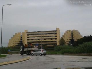 """Il quartiere """"Le Piramidi"""" al Cesano di Senigallia"""