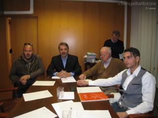 Presidente e alcuni membri del CdA della Fondazione Città di Senigallia