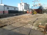 Navalmeccanico, il 'vuoto' lasciato dall'imbarcazione