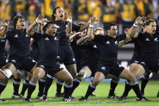 Rugby, gli All Blacks della Nuova Zelanda