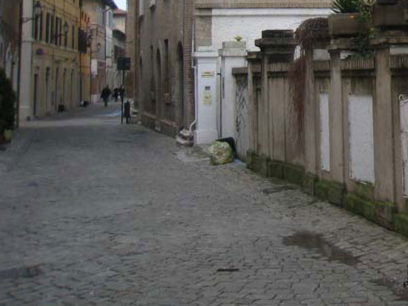 Un'immagine di via Mastai a Senigallia