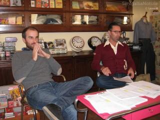 Gli organizzatori del Summer Jamboree, Alessandro Piccinini e Angelo Di Liberto