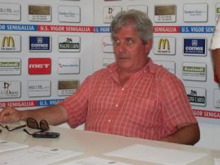 Valentino Mandolini, presidente della Vigor Senigallia dal 2004