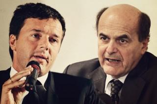 Matteo Renzi vs Pier Luigi Bersani