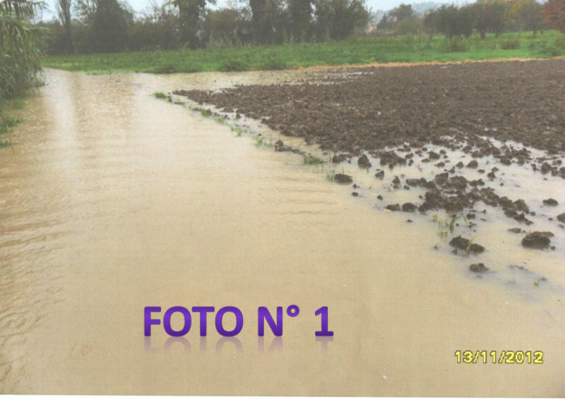 La situazione del Percorrimisa il 13-11-2012 (foto 1)