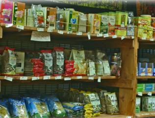 Esposizione di prodotti agroalimentari