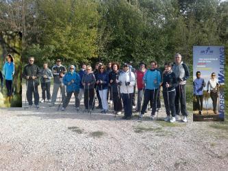 Una recente camminata del Nordic Walking Senigallia
