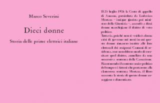 """""""Dieci donne. Storia delle prime elettrici italiane"""", copertina libro"""