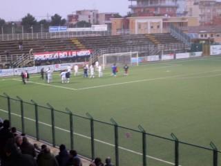 L'esultanza dei giocatori della Vigor Senigallia a fine gara