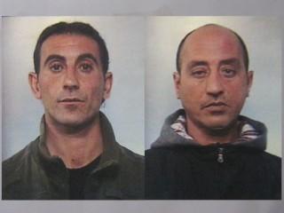 I due arrestati a Senigallia: Cosimo De Iaco (sx) e Elio Maiorana (dx)
