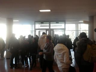 Occupazione degli studenti del Padovano di Senigallia
