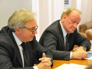 Bilancio di previsione 2013 per la Regione Marche: Spacca e Marcolini in conferenza stampa