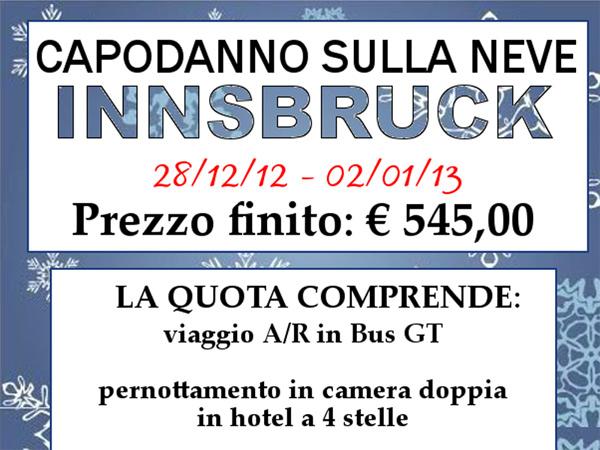 Viaggio capodanno 2013 sulla neve a Innsbruck