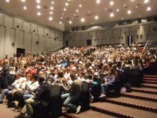 Interno del teatro La Fenice