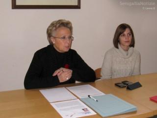 Silvana Amati e Nicol Mattei
