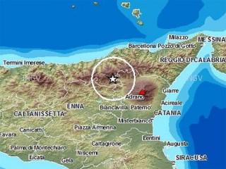 Scossa di terremoto in Sicilia la mattina del 4 gennaio 2013