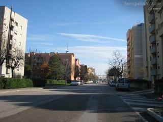 Via dei Gerani a Senigallia
