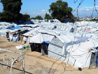 La situazione delle tendopoli ad Haiti (gennaio 2012)