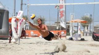Matteo Cecchini in azione
