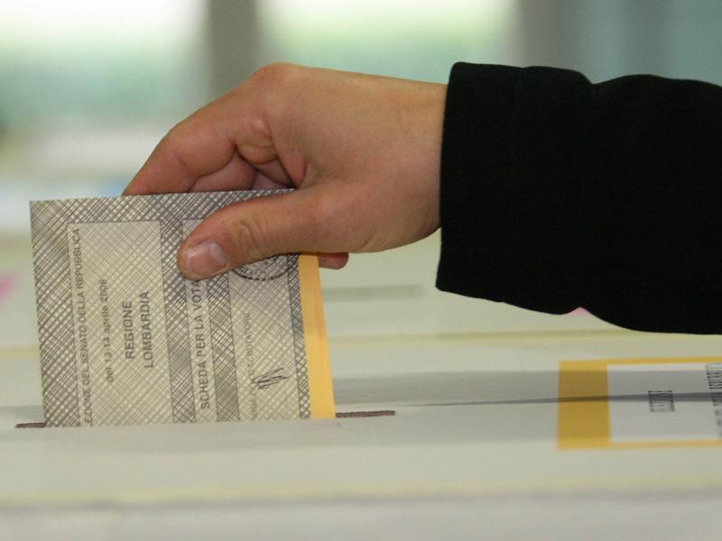 Scheda elettorale, voto, elezioni politiche 2013