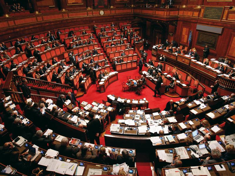 Il Senato della Repubblica, Parlamento