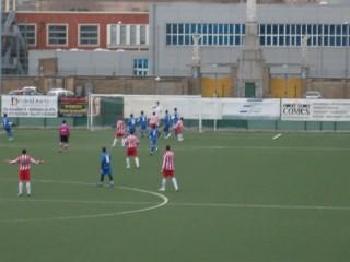 Un attacco alla porta del Senigallia Calcio