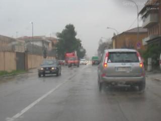 Maltempo a Senigallia, pioggia