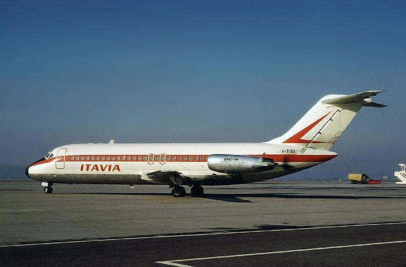 L'aereo caduto nel 1980 ad Ustica