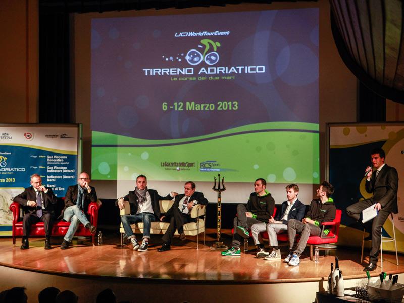 Presentazione della Tirreno-Adriatico 2013