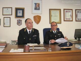 Paolo Molinelli e Maurizio Massoni, della Polizia Stradale di Senigallia, tracciano un bilancio del 2012