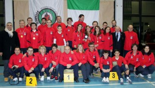 La squadra degli arcieri ASSTA alla XXX edzione del Trofeo Città di Senigallia (26-27 gennaio 2013)