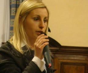 Giorgia Fabri, assessore alla cultura del Comune di Corinaldo