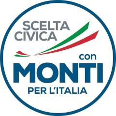 Logo Scelta Civica con Monti per l'Italia, elezioni politiche 2013