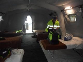 Falchi della Rovere impegnati nelle zone colpite dal sisma in Emilia