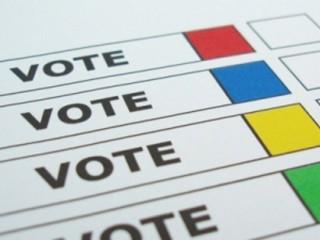 Voto, elezioni, esempio di scheda elettorale