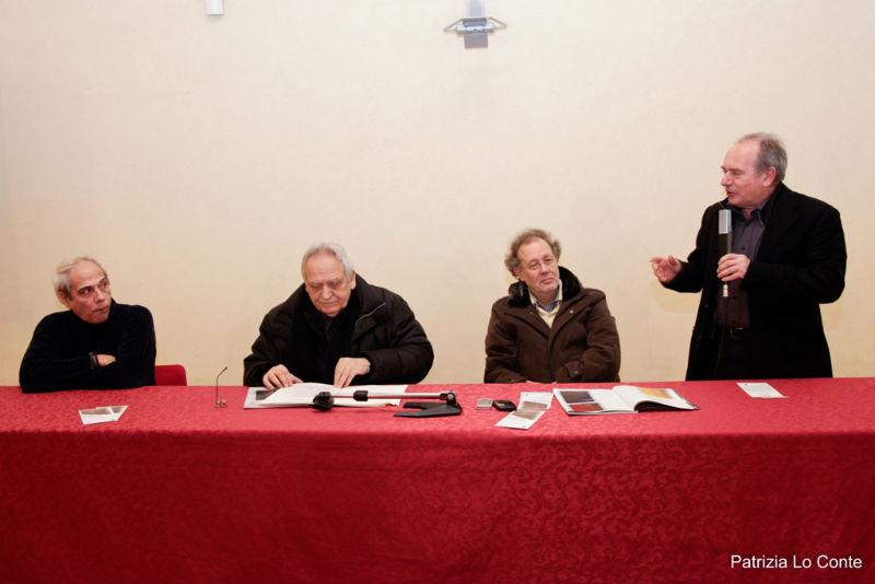 Inaugurazione della mostra di Enzo Cacciola