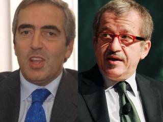 Maurizio Gasparri e Roberto Maroni