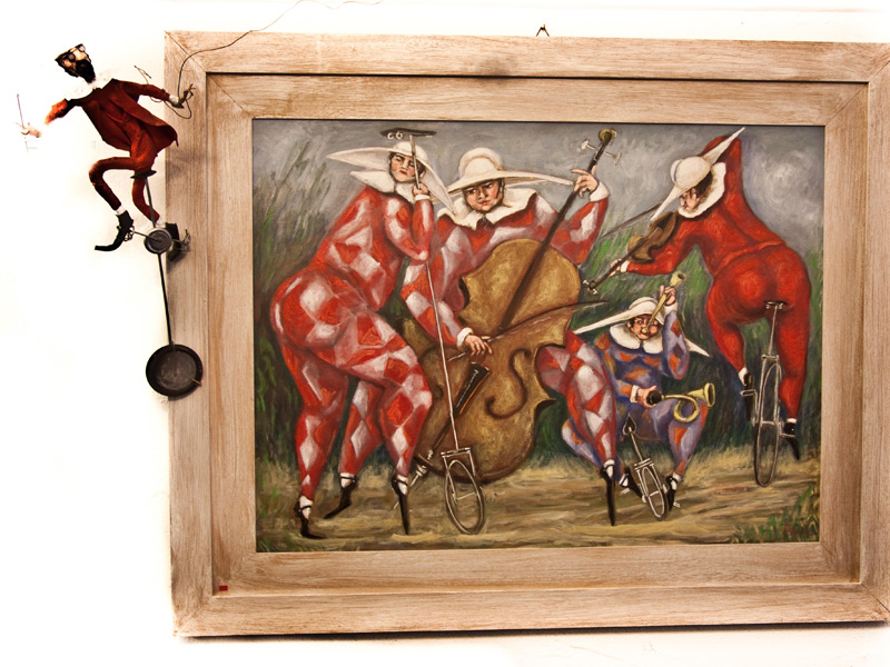 Quadro, dipinto di Ermanno Tarli