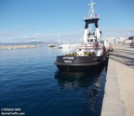 Il rimorchiatore per le navi del Navalmeccanico
