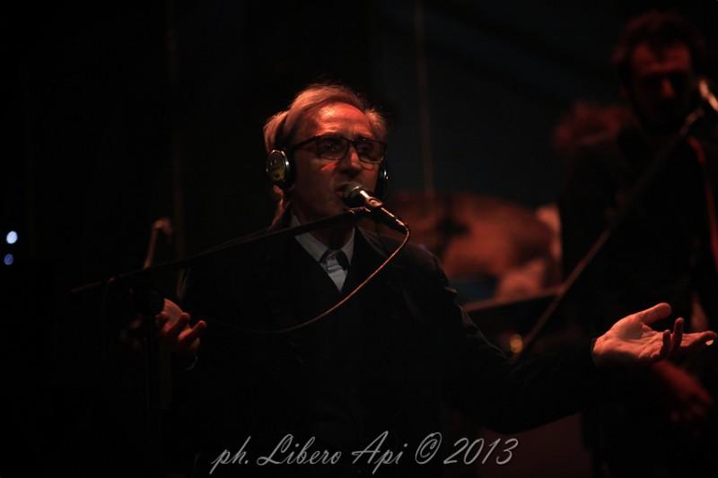Franco Battiato al teatro La Fenice di Senigallia