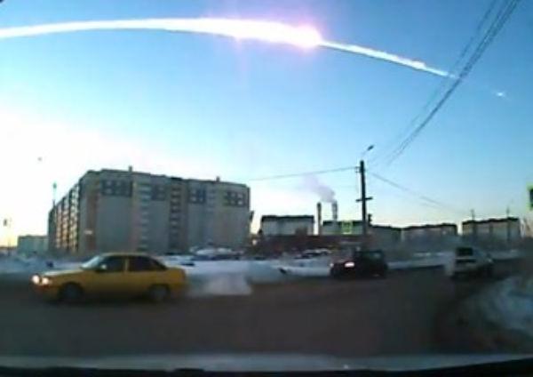 Lo sciame di meteoriti caduti in Russia