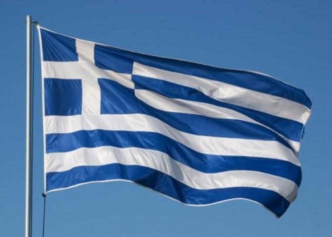 La bandiera della Grecia