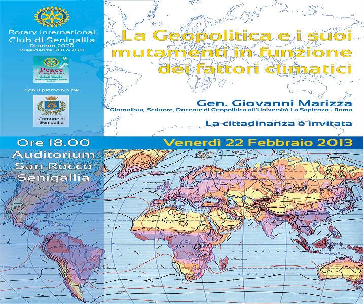 Incontro con Giovanni Marizza a San Rocco, manifesto