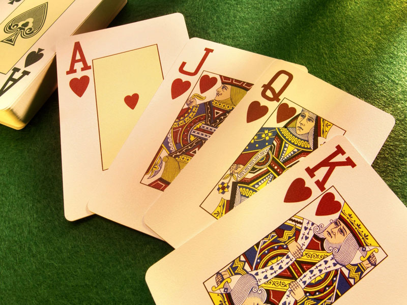 Carte da gioco per poker, scala, ramino