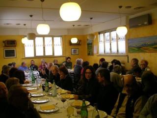 L'assemblea/cena degli Amici della Foce del Cesano