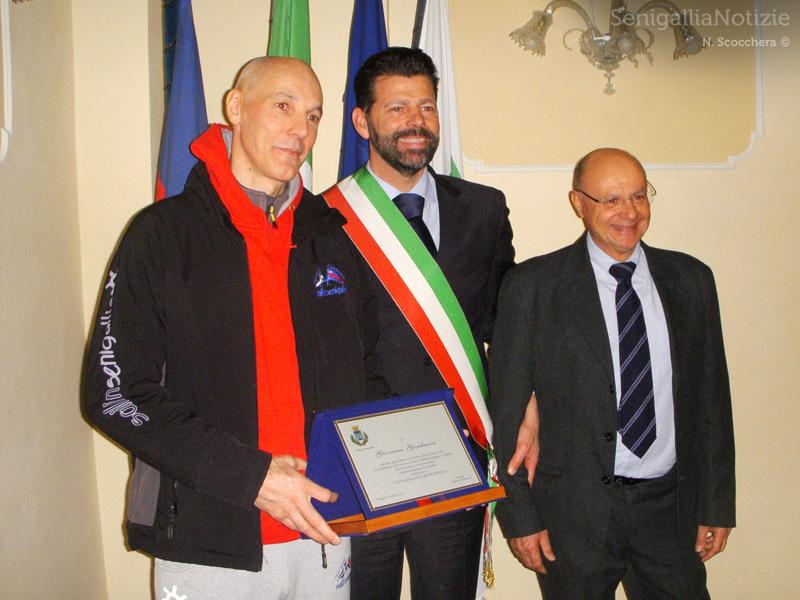 Giovanni Gamberini, Maurizio Mangialardi, Stefano Mengucci