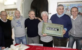 Da sinistra: Attilio Ruggeri,Cristian Gabarrini, Silvano Bartozzi, Renzo Rocchetti, Gennaro Campanile, Luca Latini