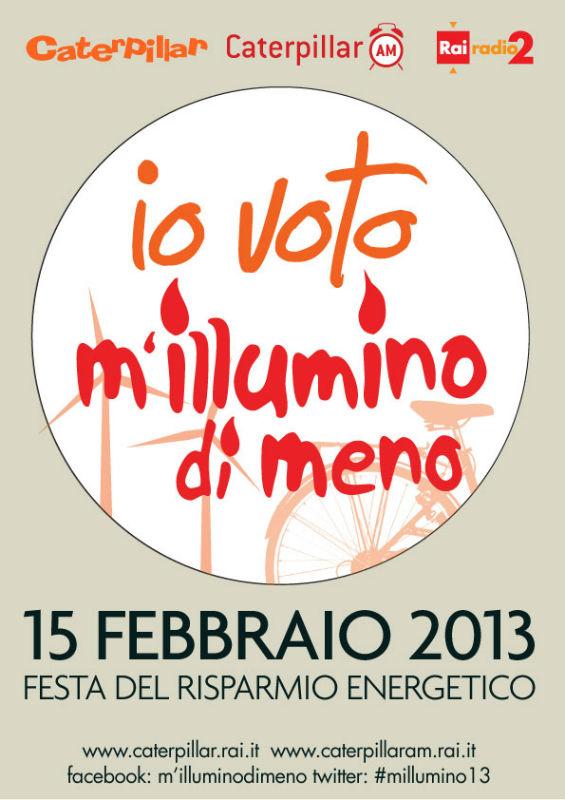 """""""M'illumino di meno 2013"""": Senigallia aderisce alla giornata per il risparmio energetico"""