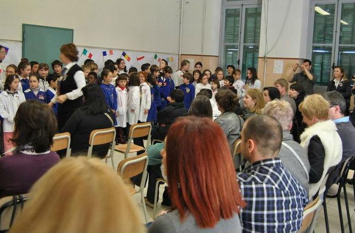 Docenti e alunni per il Progetto Europeo Comenius